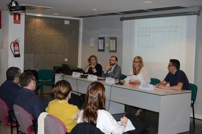 La presentación ha tenido lugar en el auditorio del edificio Rubí+D (foto: Localpres)