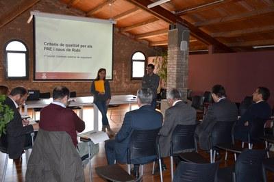La comisión externa se ha reunido este viernes en la Masía de Can Serra.