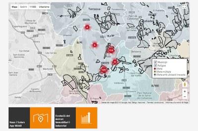 El Ayuntamiento de Rubí incorpora un buscador de suelo y techo industrial en la web de Rubiempresa.