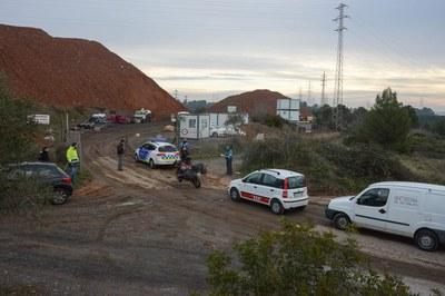 Los servicios municipales han tomado fotografías de la actividad de Can Balasc (foto: Localpres).