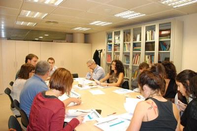 Durante la reunión se habló de la puesta en marcha de la segunda fase del proyecto (foto: Diputación de Barcelona).
