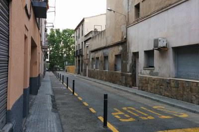 En el marco de esta actuación, en la calle Justícia se ampliarán las aceras y se asfaltará la calzada.