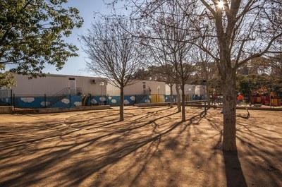 La Escuela del Bosc se ubica actualmente en módulos prefabricados (foto: Ayuntamiento de Rubí - César Font).