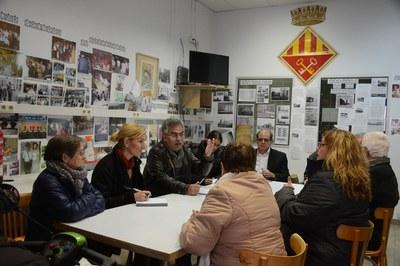 La alcaldesa ha recogido todas las demandas que le ha hecho llegar la ciudadanía (foto: Localpres).