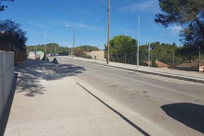 Con estas obras, el consistorio rubinense quiere mejorar la accesibilidad de la carretera de Ullastrell.