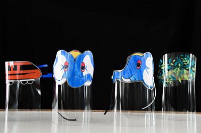 Algunos de los diseños dirigidos a los niños (foto: Ayuntamiento de Rubí - Localpres).