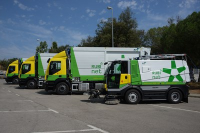 Imagen de los nuevos camiones (foto: Localpres)