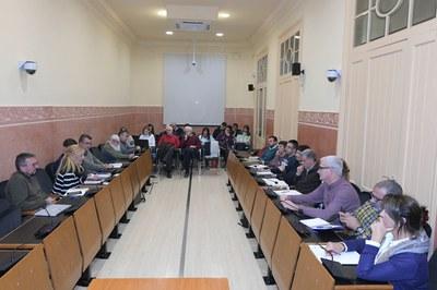 La Mesa de Seguimiento de los Vertederos se ha reunido este lunes por la noche en la Sala de Plenos (foto: Ayuntamiento - Localpres).