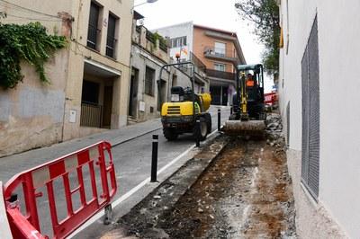 Las obras de ampliación ya han comenzado (foto: Ayuntamiento de Rubí - Localpres).