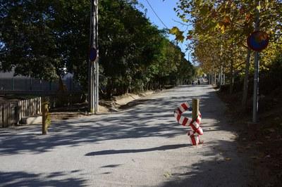 El camino de Ca n'Oriol forma parte del perímetro del parque y, consecuentemente, el Ayuntamiento quiere que disfrute de la misma protección (foto: Localpres).