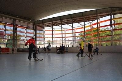 Los Juegos Deportivos Escolares cuentan con una quincena de disciplinas, entre ellas el hockey línea.