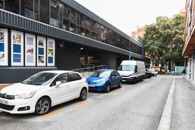 Las nuevas plazas de la zona naranja entraron en funcionamiento en febrero (foto: Ayuntamiento de Rubí - Localpres).