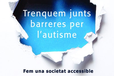Detalle de la campaña de la Confederación Autismo España.