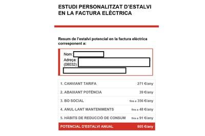 Los informes incluyen propuestas de mejora y consejos de ahorro (foto: Ayuntamiento de Rubí).