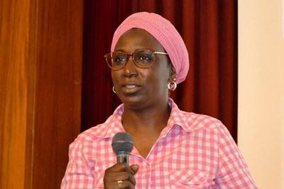 La activista Bombo N'Dir será una de las participantes en la mesa (foto: África Imprescindible).