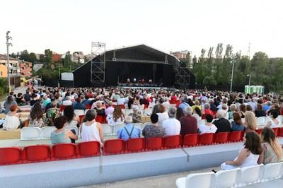 Una parte de los conciertos del RRandom debían tener lugar en el anfiteatro del parque del Castell (foto: Ayuntamiento de Rubí - Localpres).