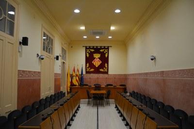 El pleno municipal no se volverá a reunir hasta nove orden (Foto: Ayuntamiento).