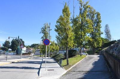 Los árboles que se retirarán se sustituirán por otros ejemplares (foto: Ayuntamiento de Rubí - Localpres).