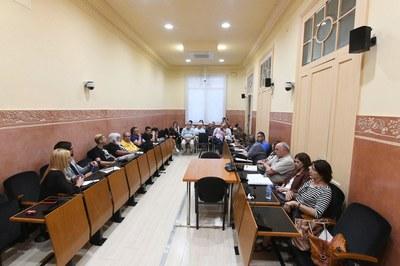 La Mesa de seguimiento de los vertederos de Rubí se ha reunido este miércoles (foto: Ayuntamiento - Localpres).