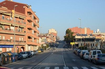 En un futuro, la avenida Estatut se convertirá en una calle más de la ciudad (foto: Ayuntamiento de Rubí - Localpres).