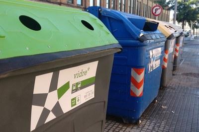 El vidrio es un residuo que se puede reciclar infinitas veces (foto: Ayuntamiento de Rubí).