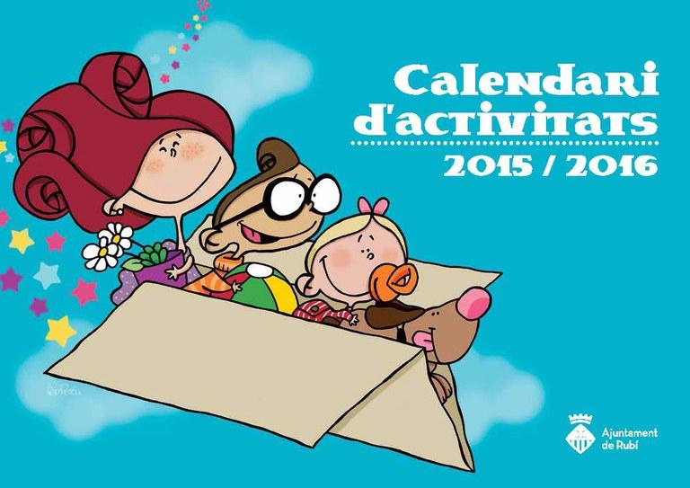 Portada del calendario ilustrada por Teo Perea