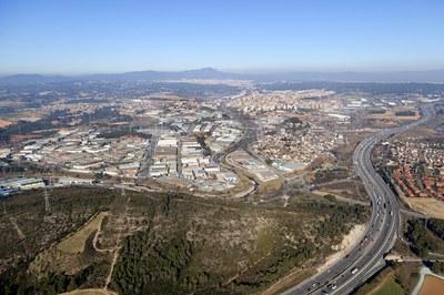 Rubí dispone de once Polígonos de Actividad Económica (PAE) (foto: Ramon Vilalta).
