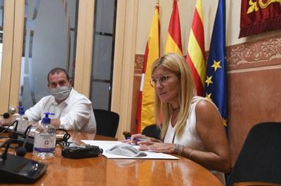 El acto de inicio de curso ha tenido lugar en la sala de plenos (Foto: Ayuntamiento/Localpres).