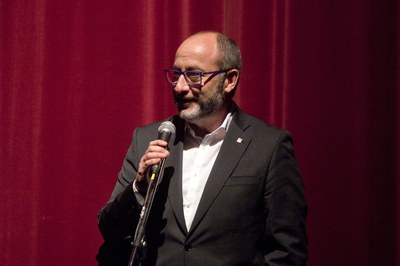 Bernat Valls durante su discurso (foto: Localpres)