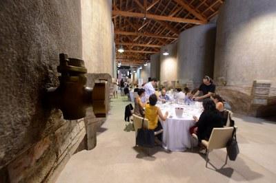 La cata se realizará en la Sala de Tines del Celler (foto: Localpres).