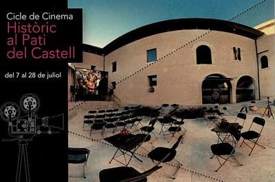 Las sesiones tendrán lugar todos los jueves de julio en el patio del Castell.