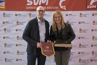 El FC Barcelona ha sido invitado al acto (foto: Ayuntamiento – Efrén Montoya).