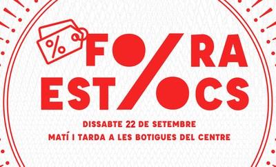 El comercio local ofrecerá el sábado descuentos especiales en un nuevo 'Fora Estocs'.