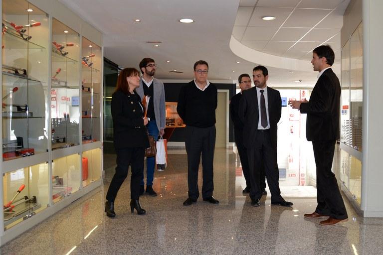 El concejal ha visitado las instalaciones de Germans Boada