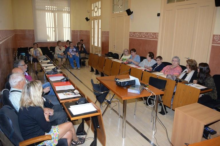 La sesión se ha celebrado en el Ayuntamiento (foto: Localpres)
