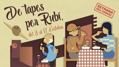 Imagen de la ruta de tapas (foto: Ayuntamiento de Rubí).