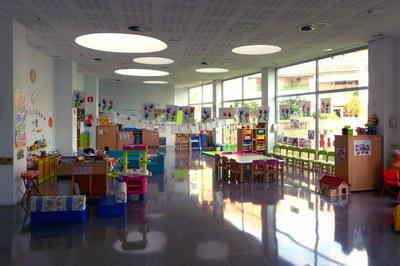 El espacio familiar Creixença es la Biblioteca Maestro Martí Tablero (foto: Ayuntamiento de Rubí - Localpres).
