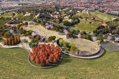 Imagen virtual del proyecto propuesto por el gobierno municipal.