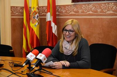 La alcaldesa ha presentado el POUM este lunes (Foto: Localpres).