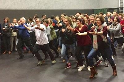 La clausura del curso ha reunido a más de 200 bailarines en el Espacio 1413.