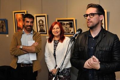 La muestra ha sido inaugurada por el concejal de Cultura, Moisés Rodríguez (foto: Localpres).