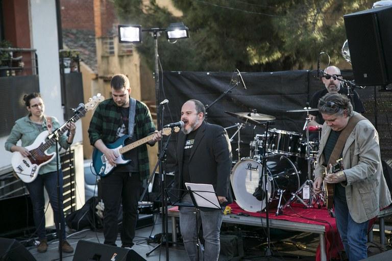 Radio Vintage Club es una de las formaciones que ha actuado este sábado (foto: Ayuntamiento – Lali Puig)