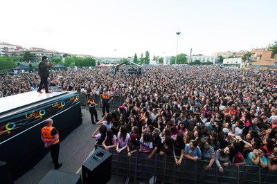 El Escardívol ha llegado a acoger hasta 12.000 personas en los momentos de máxima afluencia (foto: Localpres).