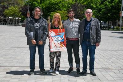 El festival se ha presentado este miércoles en la plaza Doctor Guardiet, uno de sus escenarios (foto: Ayuntamiento de Rubí - Localpres).