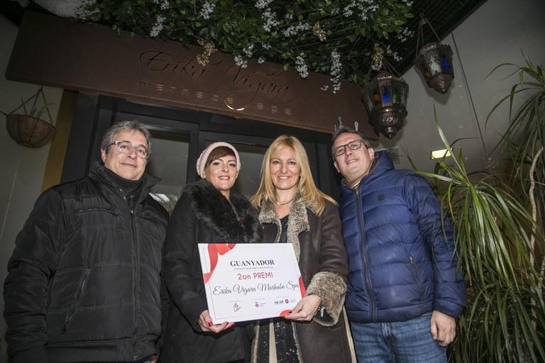 Concurso escaparates de Navidad 2018: 2º premio 'Erika Vigara Marhaba Spa'