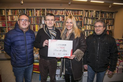Concurso escaparates de Navidad 2018: 3er premio 'El Racó del Llibre''