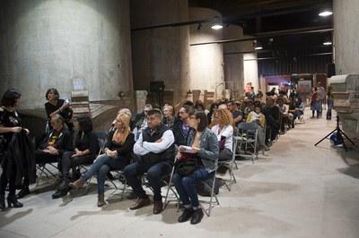 Alrededor de 200 personas han participado de la Noche Screen (foto: Cesar Font).