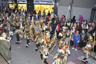 Tribu Kulungele, 2º premio del Concurso de comparsas (foto: Localpres)