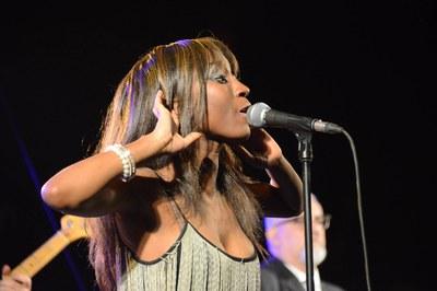 La cantante de The Excitements (foto: Localpres)