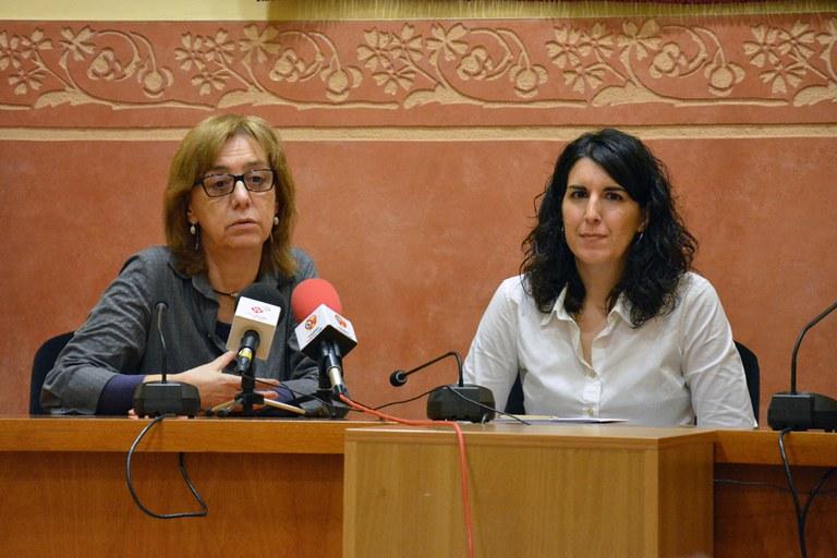 Núria Mulé y Neus Muñoz